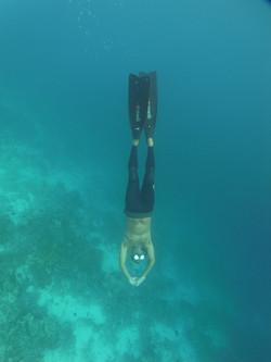 Free diving Jone 2