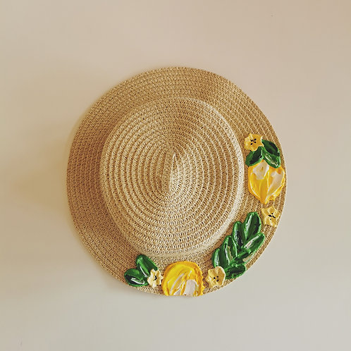Kids Lemon Hat - 53cm