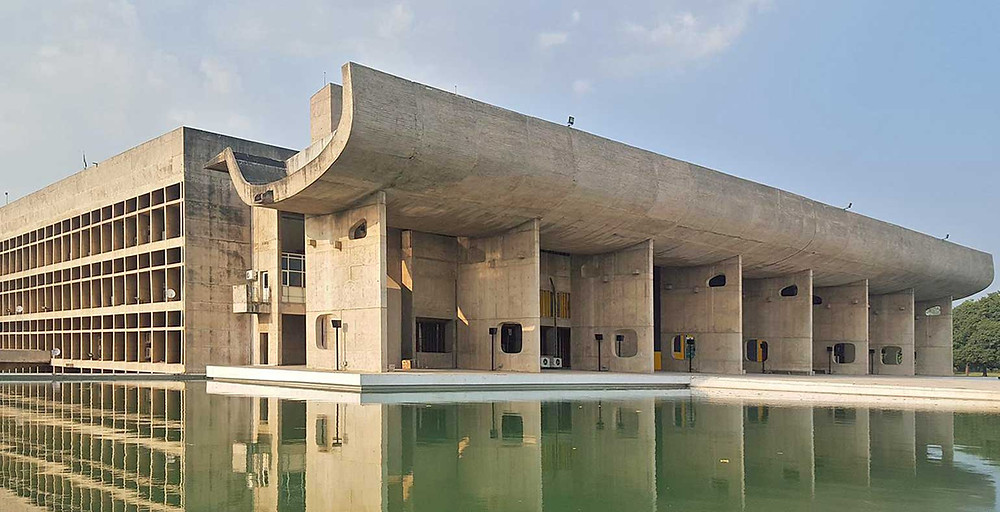 The Assembly Building Chandigarh India