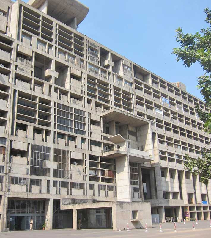 Accommodation Building Chandigarh India