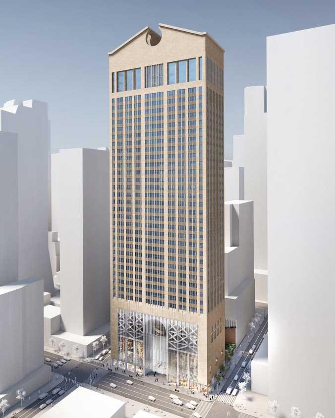 550 Madison Avenue AT&T Building Philip Johnson