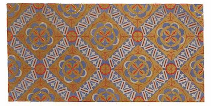 Decorative tiles found in the Hagia Sofia Museum