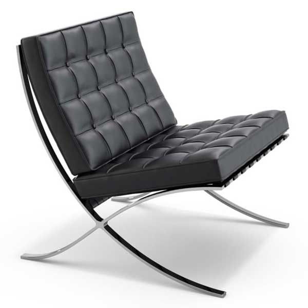 The Barcelona Chair by Mies Van der Rohe