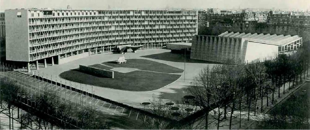 UNESCO Headquarters Paris Marcel Breuer