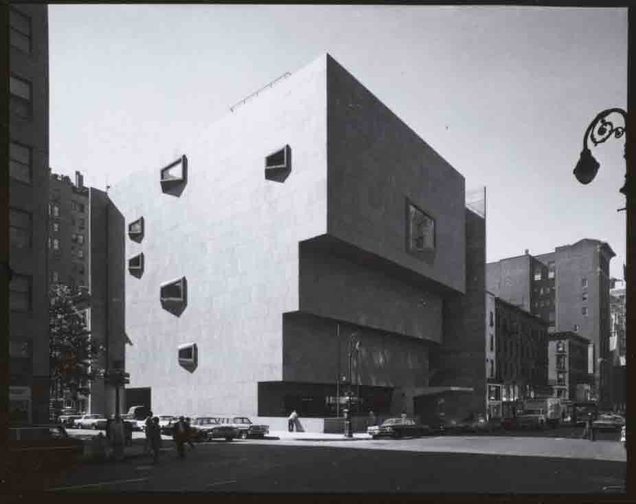 MET Whitney Museum of American Art Marcel Breuer