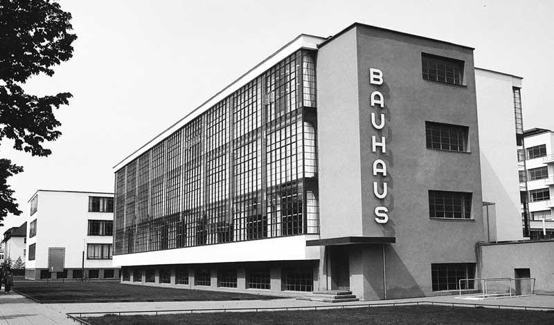 The Bauhaus School in Dessau, Germany
