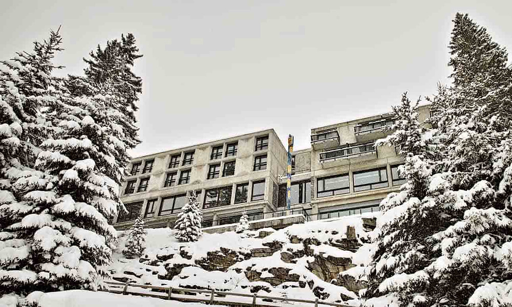 Flaine Ski Resort Marcel Breuer