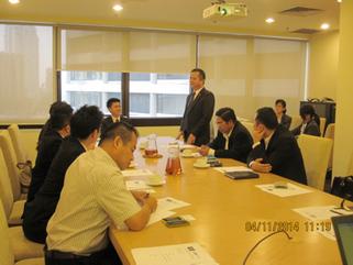 马来西亚电子商务总商会总会长沈师潒提出了4项有建议性的建议获