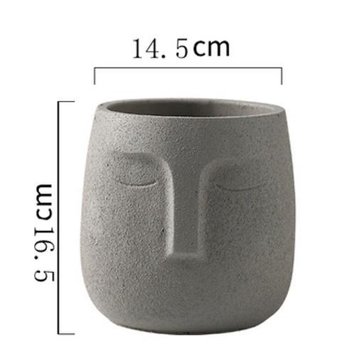 Nordic Sparta Pot Grey