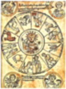 Christ apollinien au Zodiaque Italie XIe