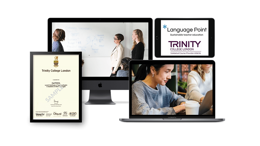 Language Point CertTESOL Trinity Devices