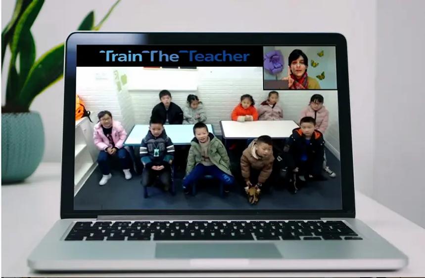 Stefania online teaching.webp