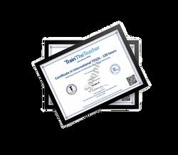 Certificate In International TESOL certificates