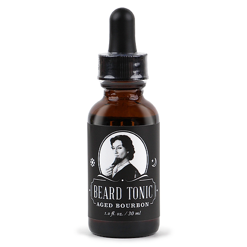 Aged Bourbon Beard Tonic
