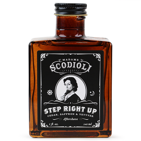 Step Right Up Aftershave
