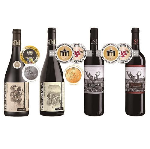 60% off Spanish Organic Wine, Special Spanish Organic Wine Combo, 12 Bottles/set