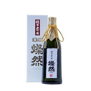 燦然 純米大吟醸原酒 40磨   720ml