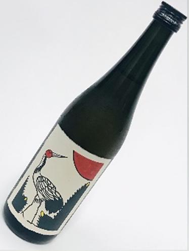 八木酒造 松に鶴ウイスキー梅酒  720ml