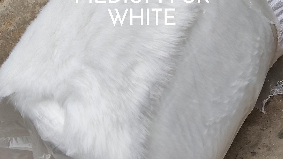 White Fur Fabric