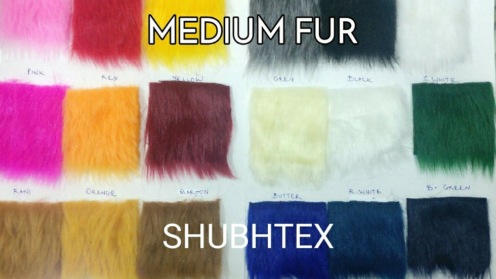 Medium Fur Fabric