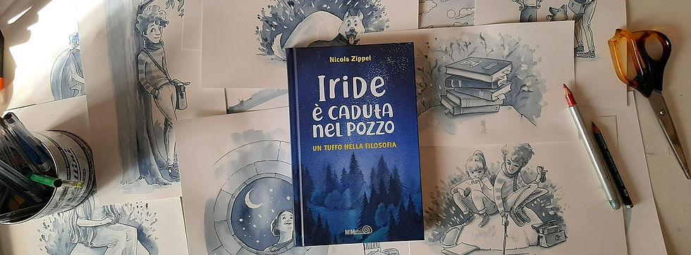 COVER BOOK, CHILDREN BOOK, LIBRI INFANZIA,FILOSOPIA, FILOSOFIA PER BAMBINI, ILLUSTRAZIONE, WATERCOLOR. PHILOSOFY.