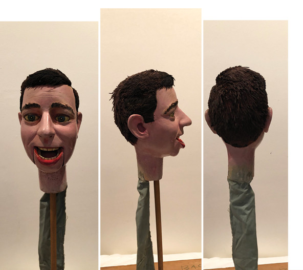 Man #6  (head only)