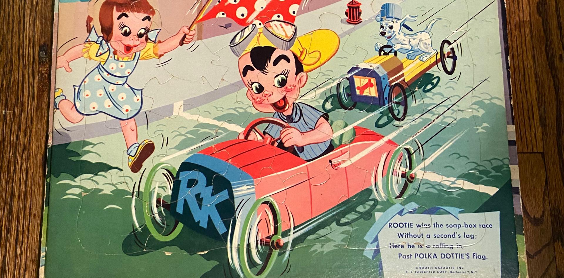 Car Race Puzzle
