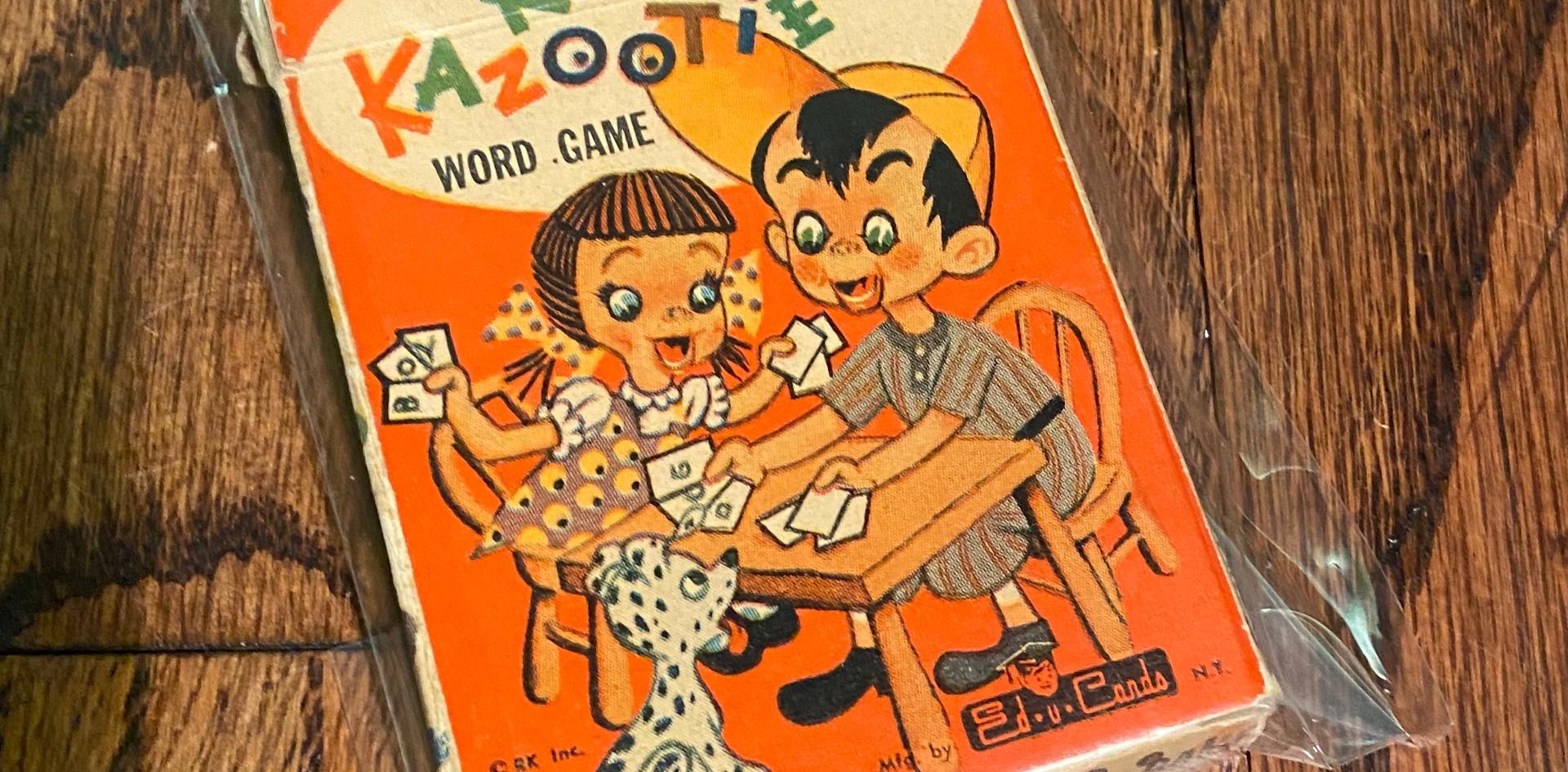 Rootie Kazootie Word Game