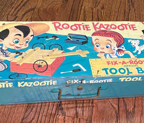 Rootie Kazootie Tool Box