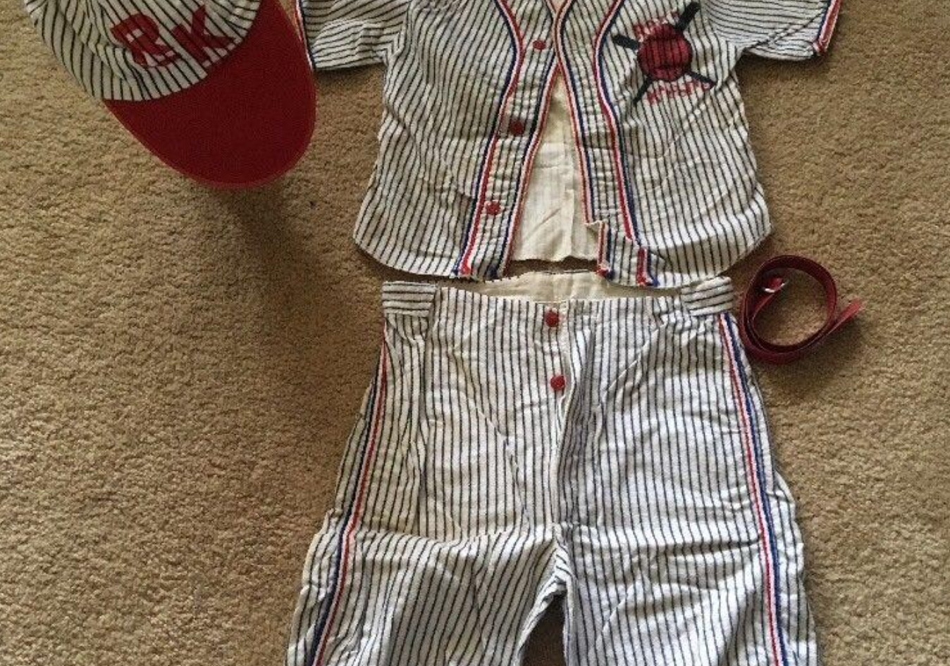 Baseball Costume