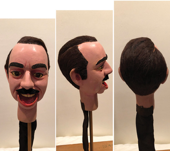 Man #7  (head only)