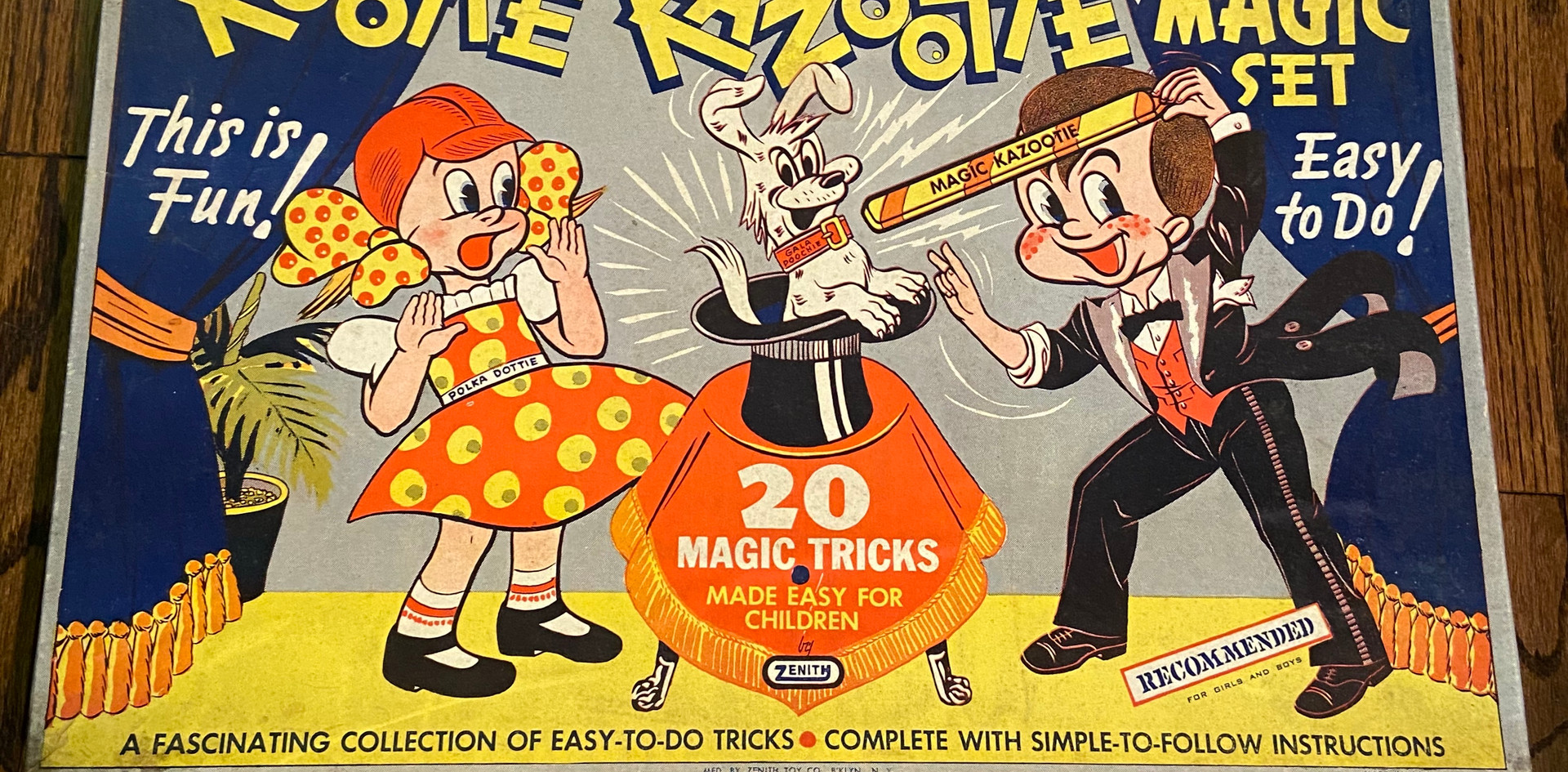 Rootie Kazootie Magic Set