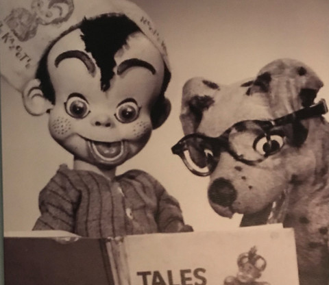 Publicity photo of Rootie Kazootie and Galapoochie Pup