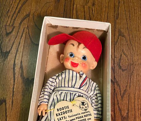Rootie Kazootie Doll in Box