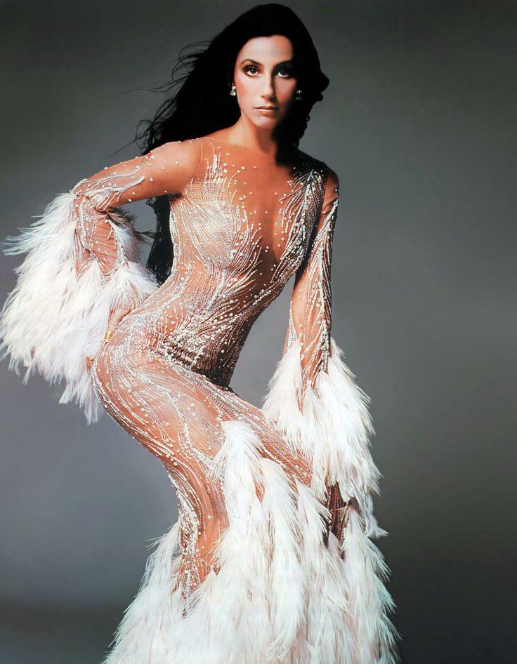 Cher in Bob Mackie, 1974