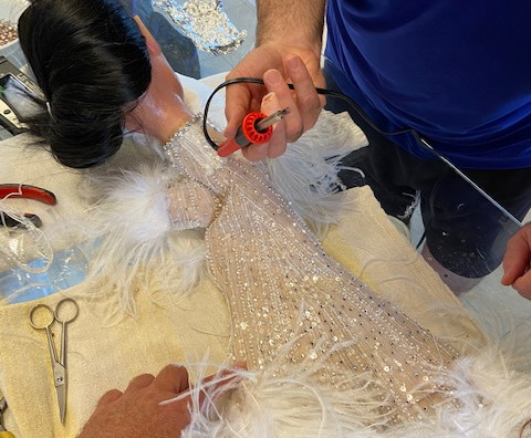 Beading and feathering continues