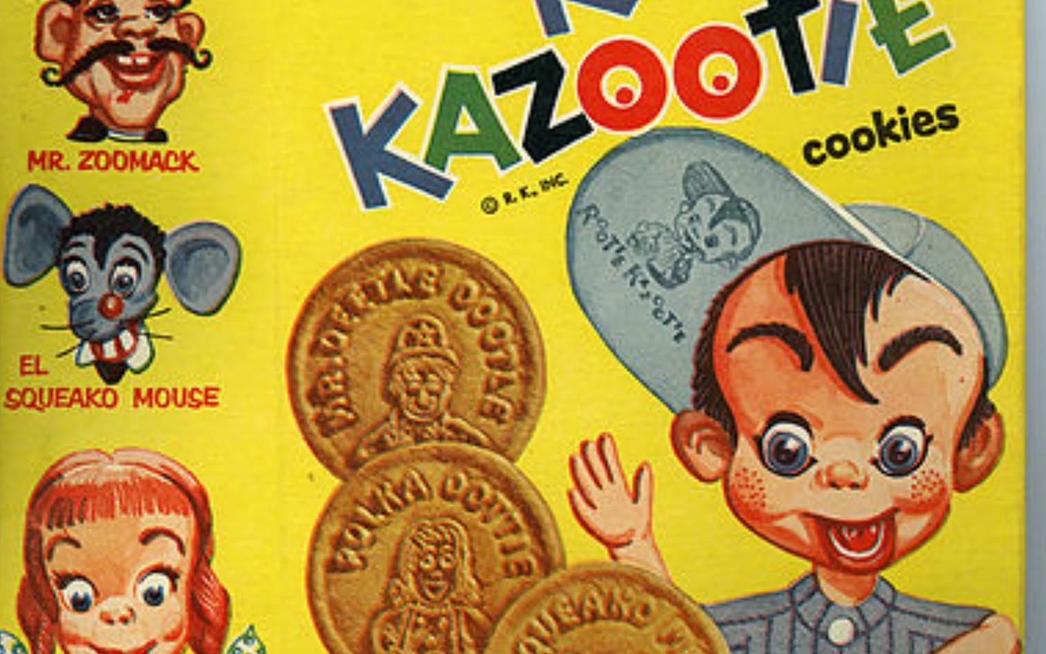 Rootie Kazootie Cookies