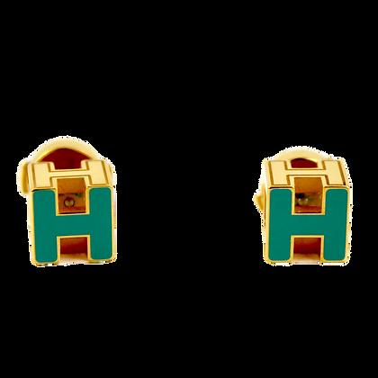 Hermès Cage d'H Earrings