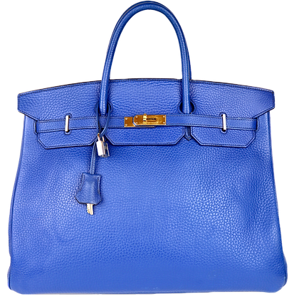 Hermès Birkin 40 Blue de France