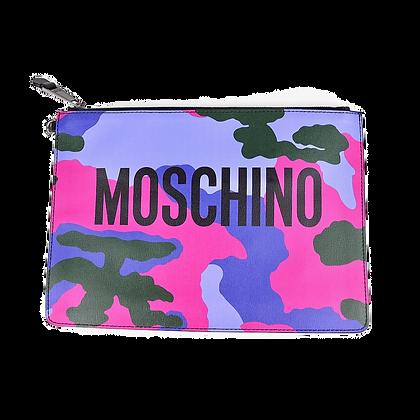 Moschino Army Clutch