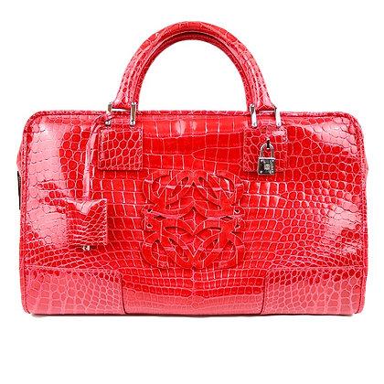 Loewe Amazona Crocodile Handbag