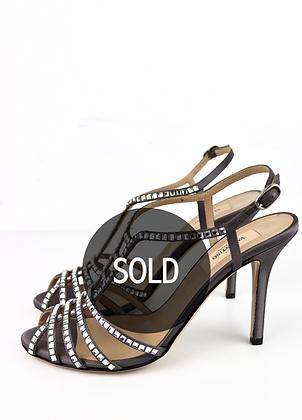 Valentino Silk High Heels