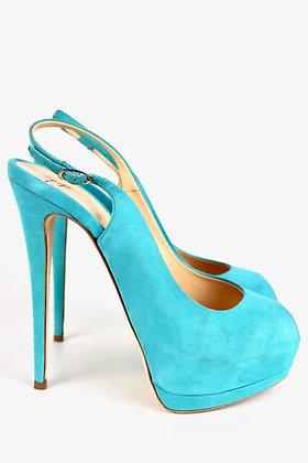 Turquoise Guiseppe Zanotti High Heels