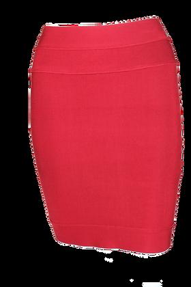 Herve Leger Skirt Red