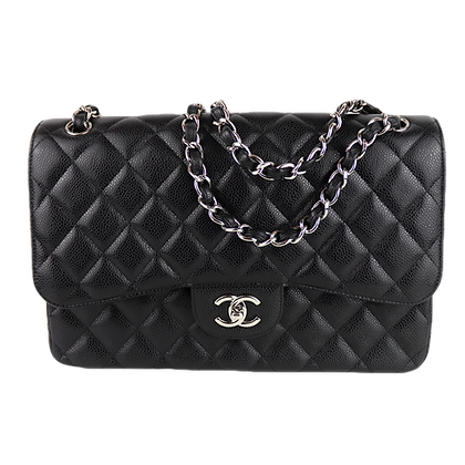 Chanel Classic Timeless Jumbo Caviar Leather