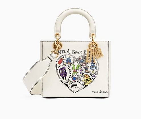 Lady Dior Limited Edition Niki de Saint Phalle Bag