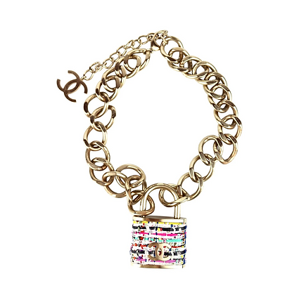 Chanel Padlock Necklace