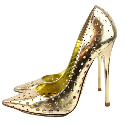 Jimmy Choo Anouk Pumps Gold