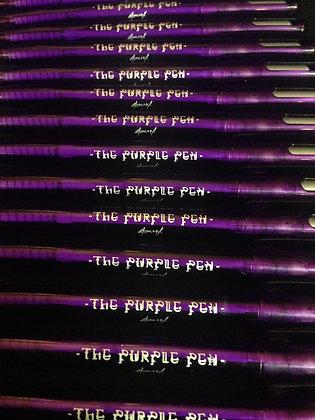 """SO NY X Zebra """"The Purple Pen"""" 2pk."""