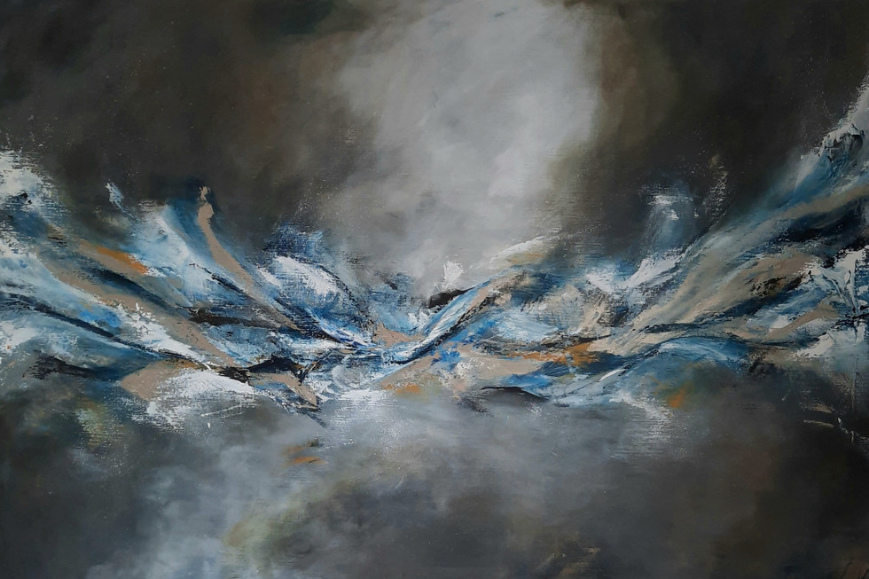 Out of space wave 100 x 150 cm